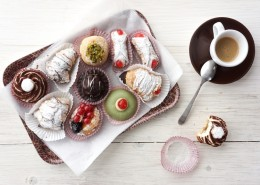 Sweets and espresso